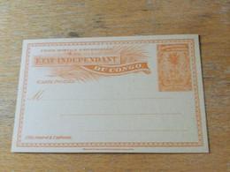 KO1 Belgisch-Kongo Ganzsache Stationery Entier Postal P 15 - Enteros Postales