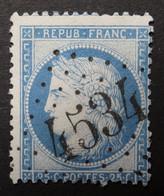 60C Obl BUREAU COMPLEMENTAIRE GC 4534 Chassagne-le-haut (20 Cote D'or ) Ind 5 - 1849-1876: Klassieke Periode