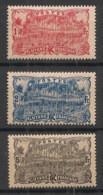 Guyane - 1904-07 - N°Yv. 63 - 64 - 65 - Cayenne 1f / 2f / 5f - Neuf Luxe ** / MNH / Postfrisch - Nuovi