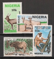 Nigeria - 1984 - N°Yv. 439 à 442 - Faune - Série Complète - Neuf Luxe ** / MNH / Postfrisch - Sin Clasificación