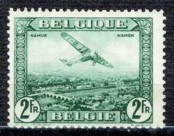 Avion Survolant Namur - Airmail
