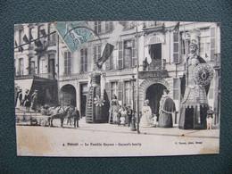 Cpa 1919 DOUAI Nord 59 La Famille Gayant ( Les Géants Du Nord ) - Douai