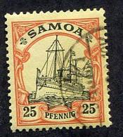 Allemagne, Colonie Allemande, Samoa, N°46 Oblitéré, Mi N°11, Qualité Très Beau - Colony: Samoa