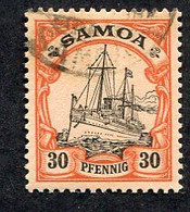 Allemagne, Colonie Allemande, Samoa, N°47 Oblitéré, Mi N°12, Qualité Très Beau - Colony: Samoa