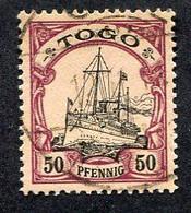 Allemagne, Colonie Allemande, Togo, N°14 Oblitéré, Qualité Très Beau - Colony: Togo