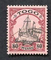 Allemagne, Colonie Allemande, Togo, N°15 Oblitéré, Qualité Très Beau - Colony: Togo