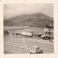 Photo 1966 : Savines  05 - Lac De Serre Ponçon - Station Service (pompe à Essence, Citroen ) La Mure - Lugares