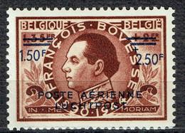 Série François Bovesse :  1,50 F + 2,50 F Poste Aérienne En Premier - Airmail