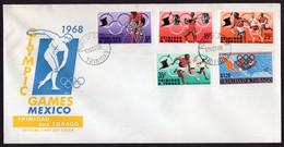 Trinidad & Tobago - 1968 - FDC - Olympic Games Mexico - Summer 1968: Mexico City