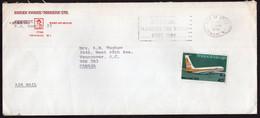 Trinidad & Tobago - 1976 - Letter - Air Mail - BWIA 1940-1975 - To Canada - Trinidad & Tobago (1962-...)