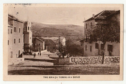 DRNIS - Drniš - 1933 Trg Kralja Tomislava - Croatia