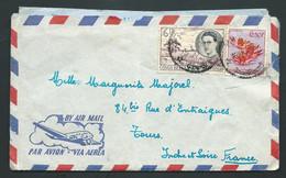Lettre ( Lac ) De Nekubay Datée Du 15/04/1957 ( Datée Garce Au Contenu , Oblitération Mal Venue  -  Raa6301 - 1947-60: Covers