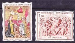 N° 1640 Et 1641 Oeuvres D'Aer L'Annonciation Et Le Triomphe De Flore: Série En Timbres Neuf Sans Charnière - Unused Stamps