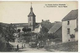 CPA  VELLEMINFROY  Rue De L'Eglise  N° 3 - Sonstige Gemeinden