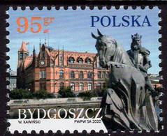 Poland - 2020 - Polish Cities - Bydgoszcz - Mint Stamp - Ungebraucht