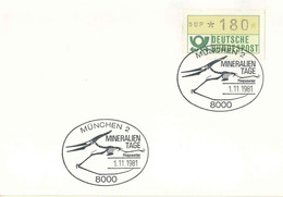 722  Pterosauria: Oblit. Temp. D'Allemagne, 1981 - Pterosaur, Dinosaur, Flying Reptile. Reptile Volant - Prehistorics