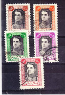 IRAN: 1942 PART SET, USED. SG875-82.;  SCV £ 53.00 - Iran