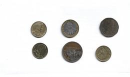 Lot De 6 Pieces De Monnaies à Decouvrir Chili - Chile