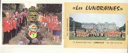 54 :  Lunéville : Les Lunoraines , Carte Double   ///  Ref. Déc. 20 ///  N° 14.308 - Luneville
