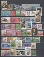 50 TIMBRES ETATS UNIS - Colecciones & Lotes