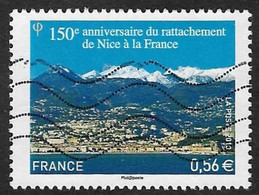 FRANCE 2010  - YT 4457 - Rattachement De Nice -  Oblitéré - Gebruikt