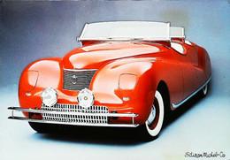 ► Automobile  Belle Epoque - CHRYSLER DUAL COWL PHATOM 1941   - Maxi Carte 17 X 12  Cm - Turismo