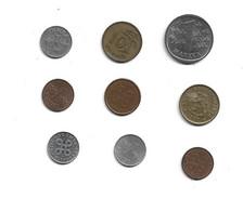 Lot De 9 Pieces De Monnaies à Decouvrir Finlande - Finland
