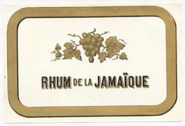 ETIQUETTE RHUM DE LA JAMAIQUE - Rhum