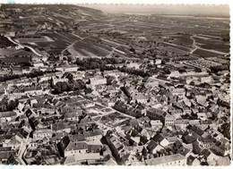 1955 VERTUS : Carte Aérienne Sur Le BOURG - Vertus