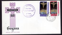 Guyana - 1968 - FDC - Easter 1968 - Guyana (1966-...)