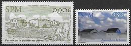 2005 Saint Pierre Et Miquelon N° 851 852  Nf** MNH . - Ungebraucht