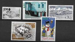 2005 Saint Pierre Et Miquelon N° 855 à 859  Nf** MNH . - Ungebraucht