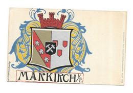 MARKIRCH SAINTE MARIE AUX MINES  BLASON - Sainte-Marie-aux-Mines