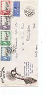 Ouganda ( FDC De 1962 Voyagé Par Avion De Nairobi Vers La Grande-Bretagne à Voir) - Uganda (1962-...)
