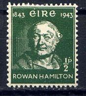 IRLANDE - 97* - SIR WILLIAM ROWAN HAMILTON - Unused Stamps