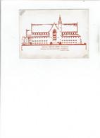 Turnhout - Instituut Heilig Graf - Ontwerp Voor De Nieuwe Kerk  (zuidgevel) - Turnhout