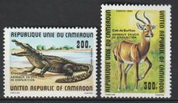 CAMEROUN - N°662/3 ** (1981) Animaux - Camerun (1960-...)