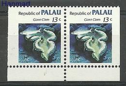 Palau 1983 MNH ( ZS7 PALpar13D ) - Vissen