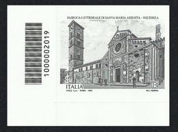 2020 - ITALIA / ITALY - 900° ANNIVERSARIO DELLA BASILICA DI VOLTERRA - CON CODICE A BARRE / WITH BAR CODE. MNH - Barcodes