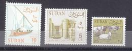 Stamps SUDAN 1990 1992 SC-420 427 428 MNH REGULAR DEFINITIVE SET CV$38 # 153 - Sudan (1954-...)