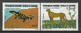 CAMEROUN - N°797/8 ** (1986) Faune - Camerun (1960-...)