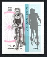 2020 - ITALIA / ITALY - VENTENNALE DELLA MORTE DI GINO BARTALI / TWENTY YEARS OF THE DEATH OF GINO BARTALI. MNH - Cycling