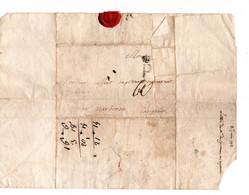 * - LET - Lettre De Paris Pour Siran Par Narbonne 1772 - P Couronné - Scripteur: De Cavennac - Cachet De Cire - 1701-1800: Precursors XVIII