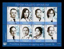 Moldova (Transnistria) 2020 #986/93 Medicine. Volunteer Doctors Against Covid-19 Coronavirus MNH ** - Moldavia