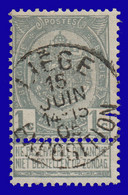 "COB N° 53 - Belle Oblitération ""LIÉGE EXPOSITION"" - 1893-1900 Thin Beard"