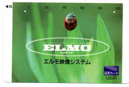 Coccinelles Insecte  Animal  Carte Prépayée Card Japon  Japan (W 230) - Coccinelle