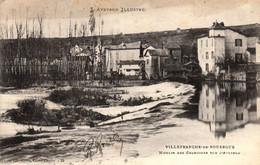 Thematiques 12 Aveyron Villefranche De Rouergue Moulin Des Chanoines Sur L'Aveyron - Villefranche De Rouergue