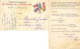 GUERRE 14-18 BIGNOLAS Abel Sergent 285e R.I. Du 21-10-1914 (mort Pour La France Le 16-6-1915 à ANGRES PAS-DE-CALAIS) - WW I