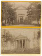 Lot De 4 Grands CDV - AURAY - 1891 - 16,5 X 11 Cm - Photo De Cabinet J. Coupé à Auray - Ancianas (antes De 1900)