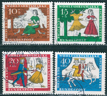 BRD - Mi 485 / 488 ⨀ (D) - Aschenputtel, Wohlfahrt 65 - Used Stamps